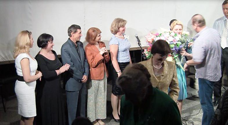 Выступающие вечера Ирины Шухаевой на общем поклоне