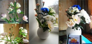 """История жизни пятоИстория жизни пятого букета в авторском проекте Ирины Шухаевой """"27 букетов для расцвета карьеры"""""""