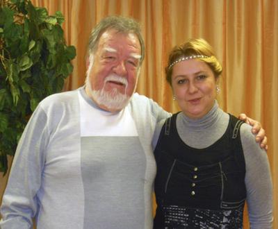 Юрий Чичев и Ирина Шухаева