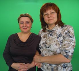 Писатель Ирина Шухаева и режиссер Светлана Аронова