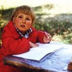 "Ирина Шухаева в детстве. ""Пиши, Ира, писателем станешь..."""