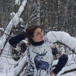 Ирина Шухаева на старте 2018.