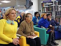 Ирина Шухаева на презентации сборника