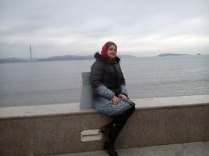 Ирина Шухаева. Остров Русский (Владивосток). Ноябрь 2015