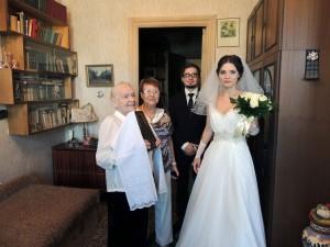 Ирина Шухаева о свадьбе дочери. Благословение бабушки и прабабушки. Август 2015
