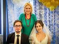 Ирина Шухаева на свадьбе дочери Анастасии. Август 2015